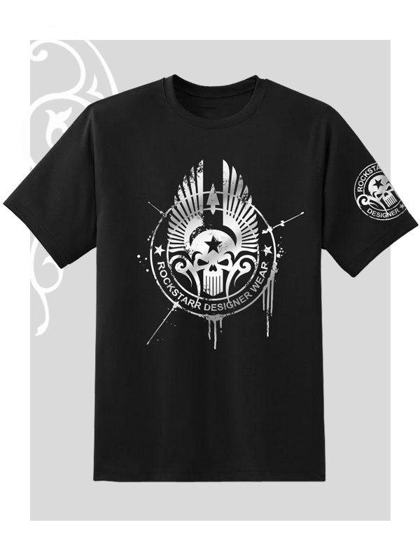 Rock N Roll Skull T-Shirt Unisex