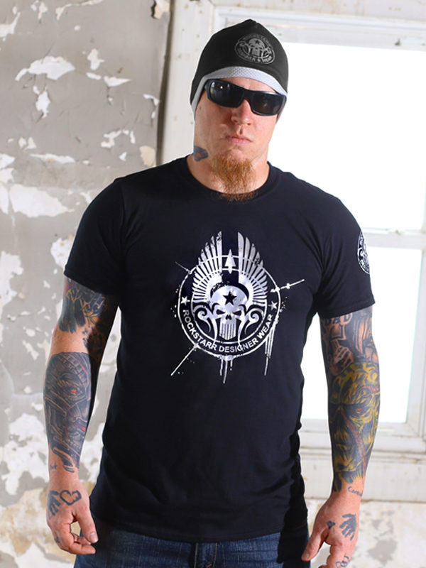 Rock N Roll Skull T-Shirt for Men