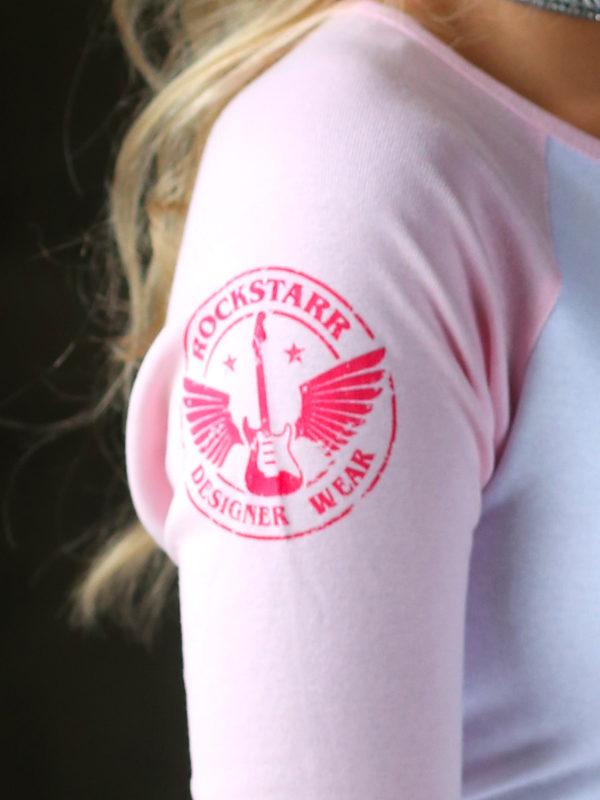 RockStarr Designer Wear Angel or Devil Girls T-Shirt