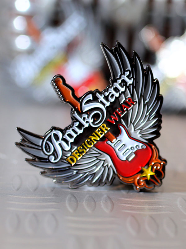 RockStarr Designer Wear Collectors Enamel Pin