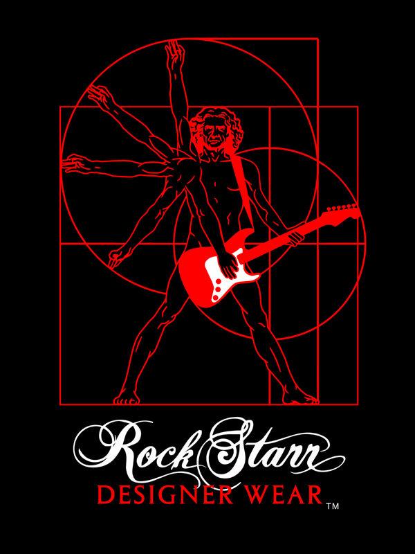 RockStarr Designer Wear DaVinci Tshirt