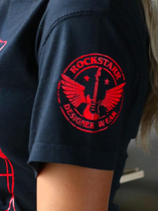 RockStarr Designer Wear DaVinci Unisex Tshirt