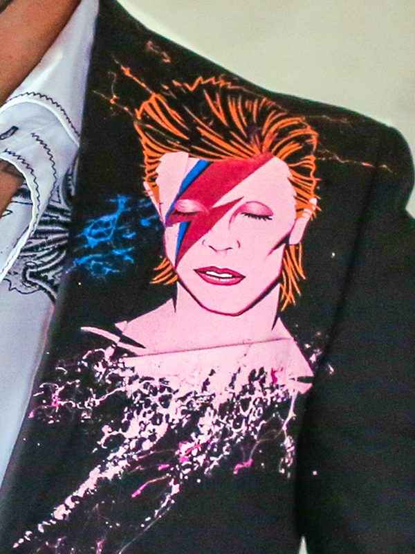 RockStarr Designer Wear David Bowie Artwork