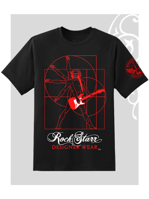 RockStarr Designer Wear David Starr Rock N Roll Mens and Womens T-shirt