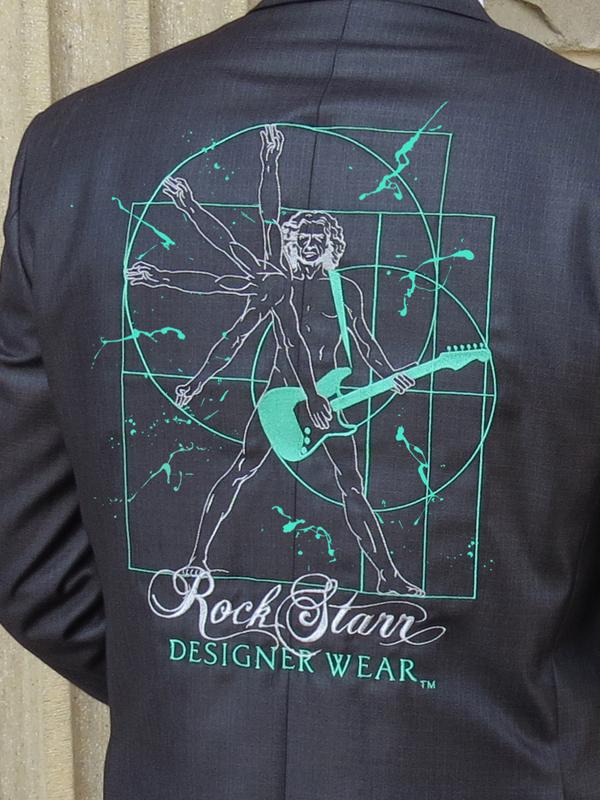 RockStarr Designer Wear Davinci Guitar Jacket