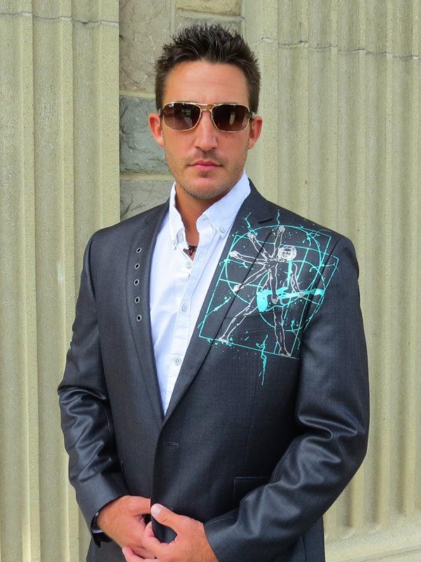 RockStarr Designer Wear Davinci Mens Blazer