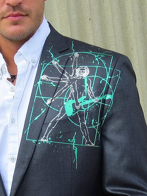 RockStarr Designer Wear Davinci Mens Jacket