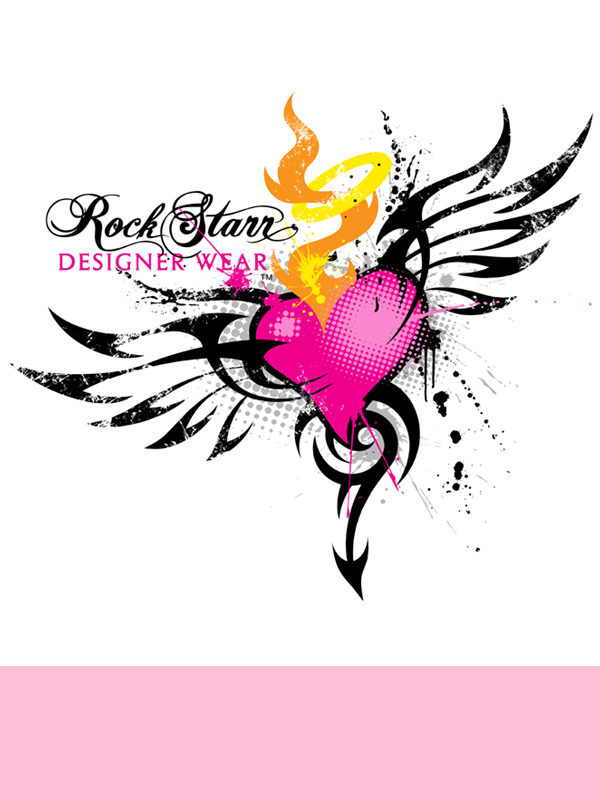 RockStarr Designer Wear Devil Womens T-shirt