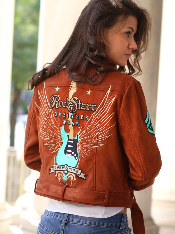 RockStarr Designer Wear Womens Rock n Roll Jacket