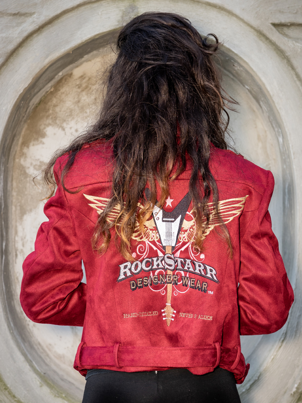 RockStarr Designer Wear Womens Rocker Jacket