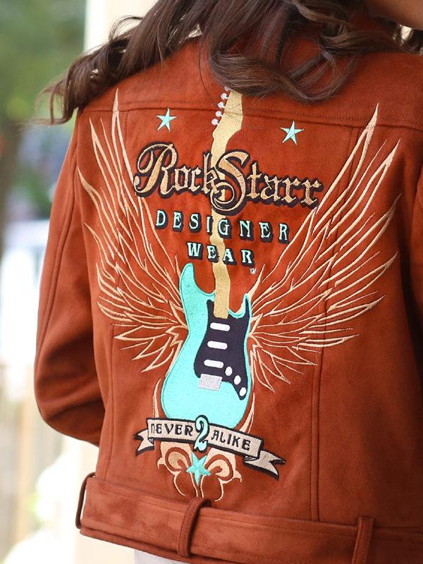 RockStarr Designer Wear Womens Rocker Jacket
