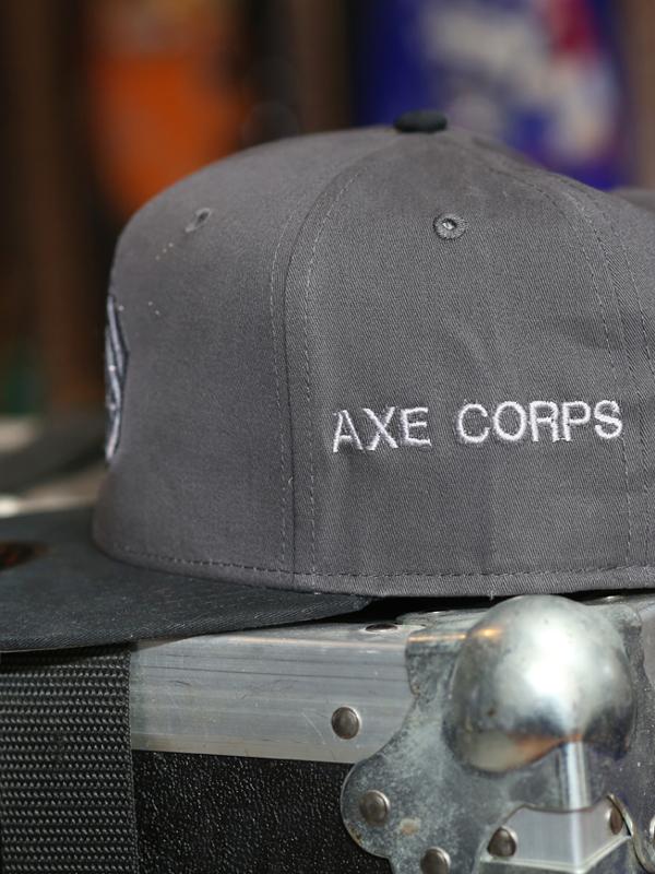 RockStarr Designer Wear Axe Corps Cap